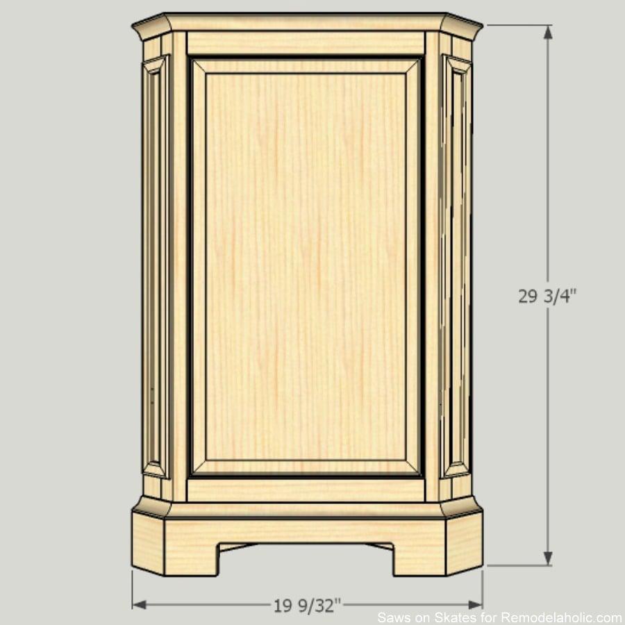 corner-cabinet-saws-on-skates-front-dimensions