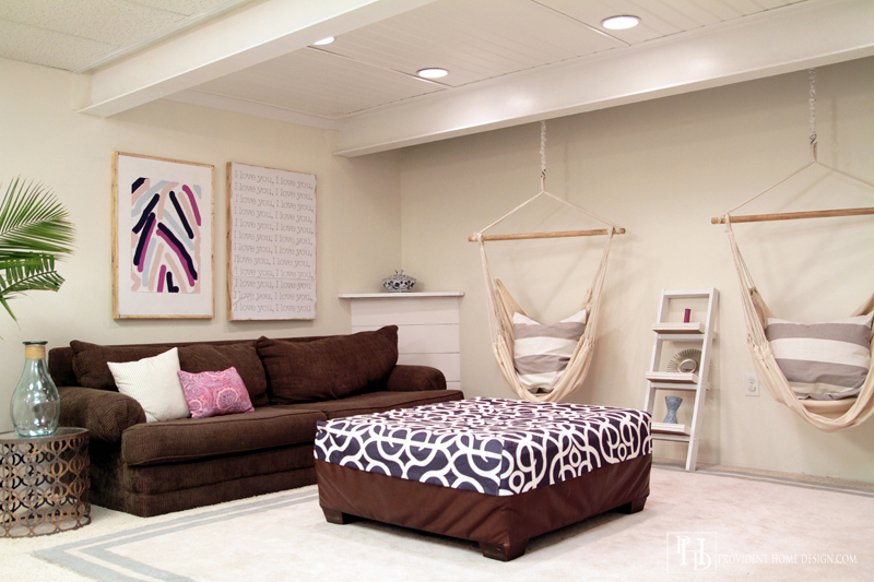 how to make a drop ceiling in my basement