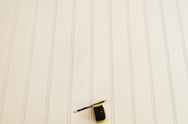 Remodelaholic | DIY Beadboard Ceiling To Replace a ...