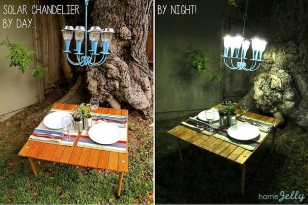 DIY Solar Chandelier By Home Jelly On Remodelaholic