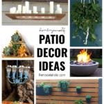 DIY Patio Decor Ideas On Remodelaholic