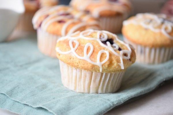 Jam Stuffed Muffins | Breakfast Recipe | Muffin Recipes | Jam Muffins Remodelaholic.com