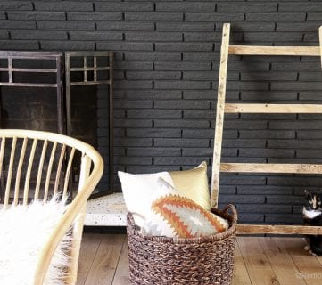 Pallet Blanket Ladder Tutorial for Quilts or Shoe Storage
