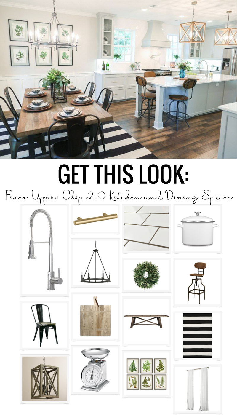 Remodelaholic | Get This Look: The Fixer Upper Chip 2.0