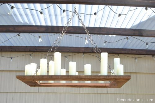 Outdoor Chandelier DIY By The Creative Home On Remodelaholic