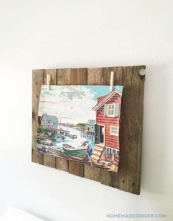 pallet-wood-picture-frame-homemade-ginger