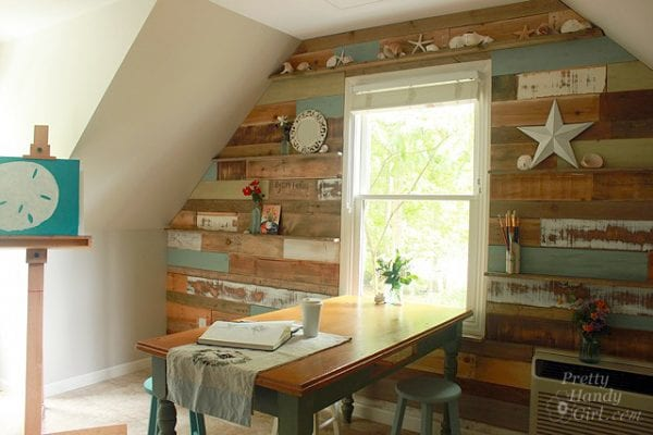 pallet-wall-with-ledges-by-pretty-handy-girl