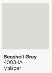 Valspar Seashell Gray