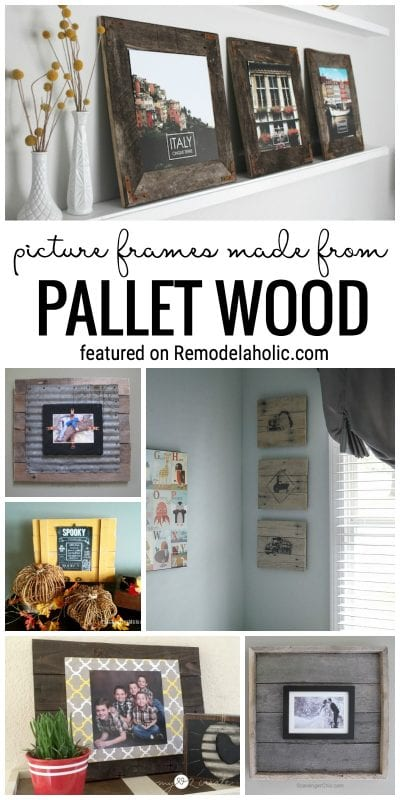 Looking for a perfect easy pallet project for your first pallet wood foray? You can't get a better beginner project than a picture frame! @Remodelaholic