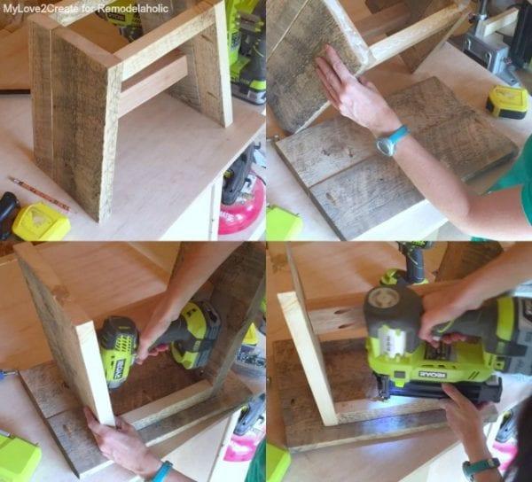 adding-top-to-stool-mylove2create