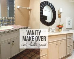 Best Chalk Paint Bathroom Vanity