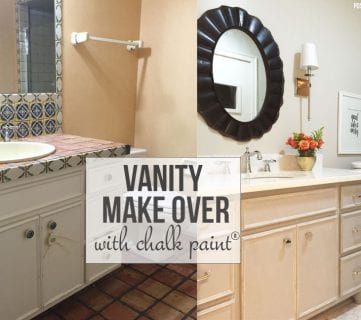 Chalk Paint® Bathroom Vanity Makeover!