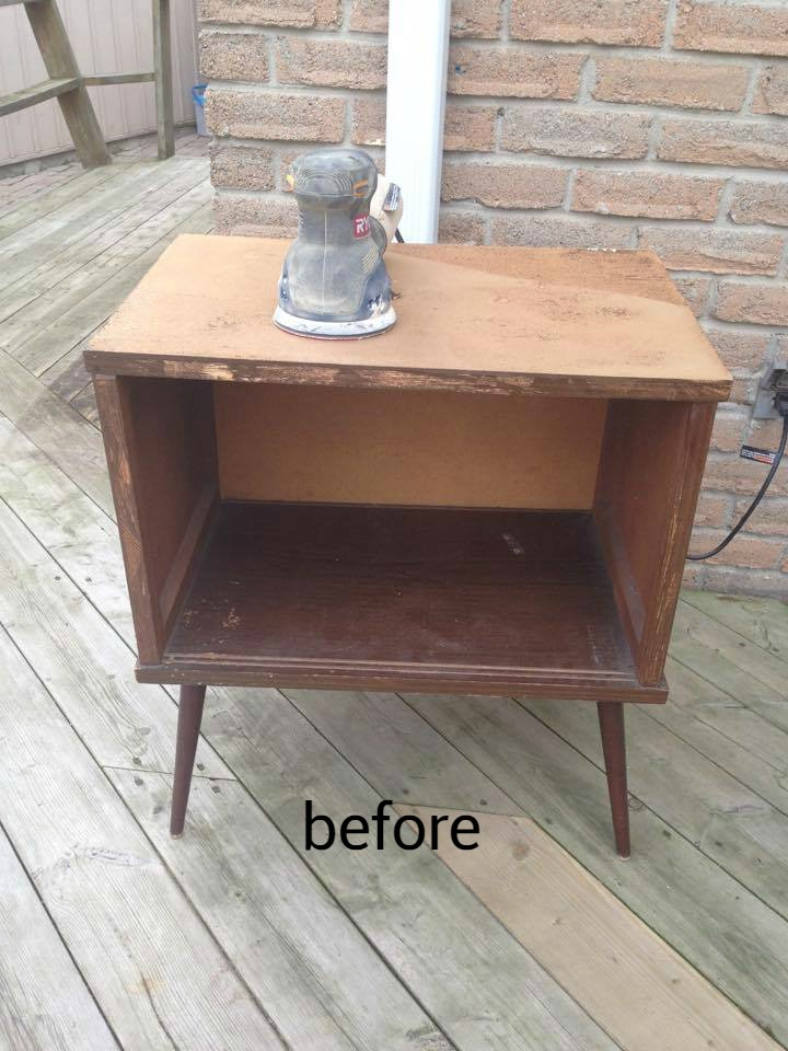 Furniture Legs Diy remodelaholic | diy hexagon stool or side table using thrifted legs