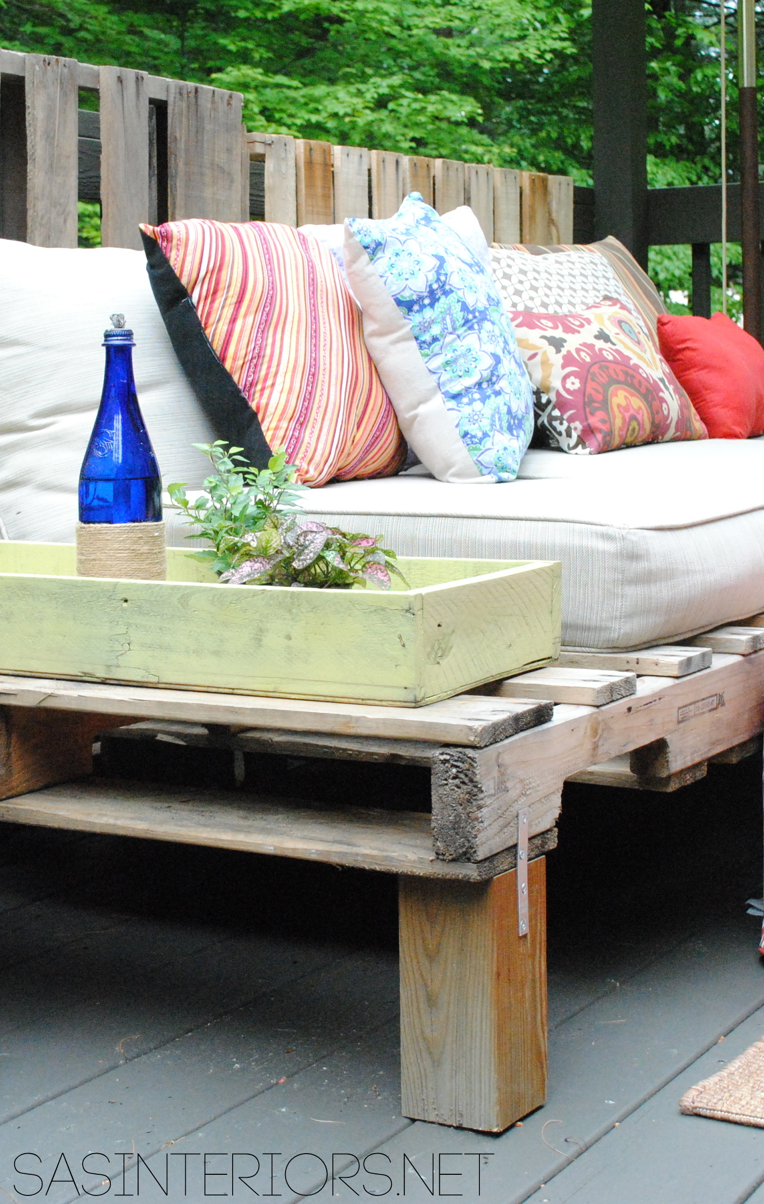Pallet Projects Outdoor Flowers