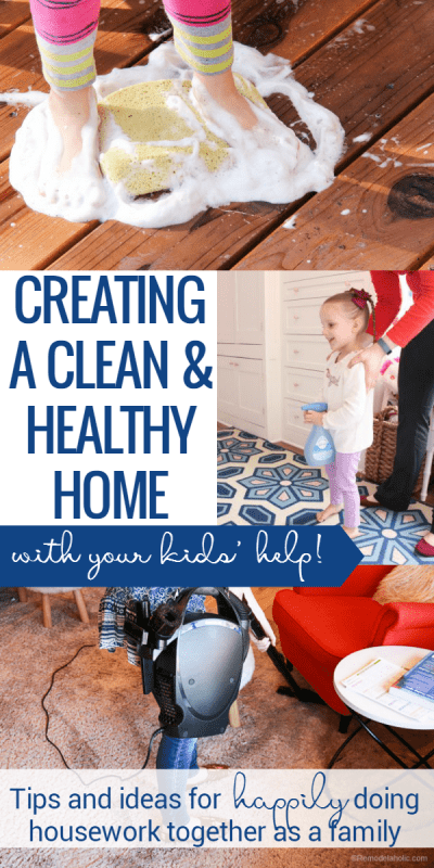 Kids can (and should!) help with housework, and this is how we do it in our family to create a #cleanandhealthyhome. With a few tricks (and patience) up our sleeve, and our new #OreckElevate, we're ready for fall cleaning and a healthy home this winter. #ElevateYourClean #sponsored
