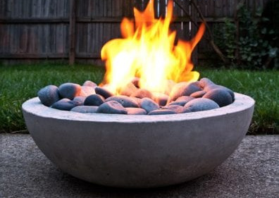 Diy Concrete Fire Pit By Man Made DIY On Remodelaholic