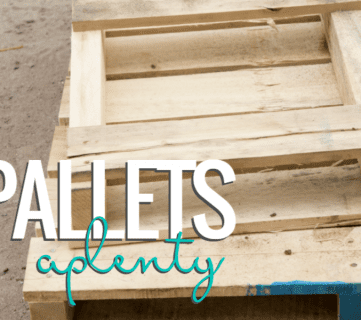 Pallets Aplenty! 9 Creative DIY Pallet Projects (Pallet Challenge)