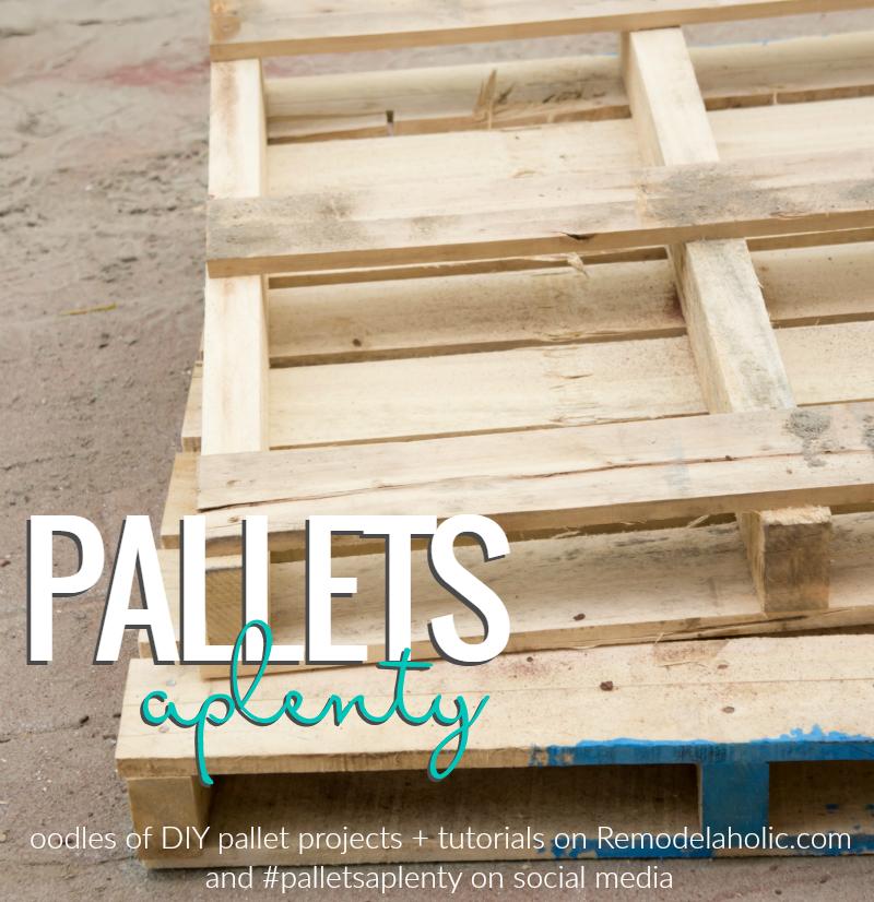Remodelaholic | Pallets Aplenty! 9 Creative DIY Pallet ...