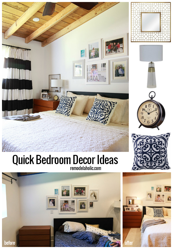 Remodelaholic bedroom decor ideas for Quick and easy room decor ideas