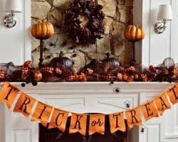 simple halloween decor feat @remodelaholic