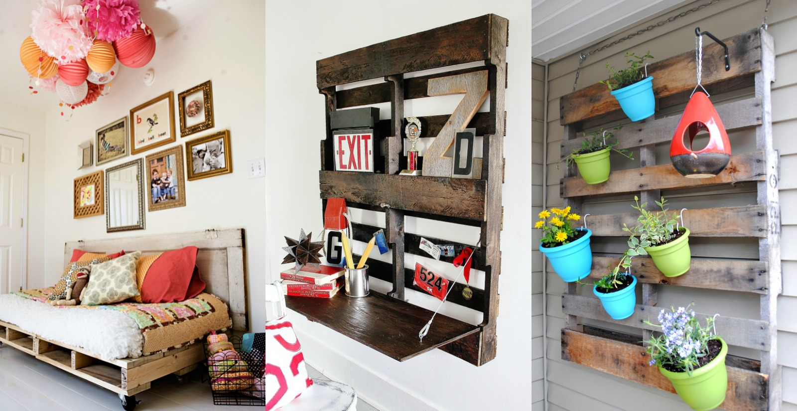 Pallet Projects Part - 29: Remodelaholic | 37 Whole Pallet Projects, AKA Things You Can Build Without  Taking A Pallet Apart