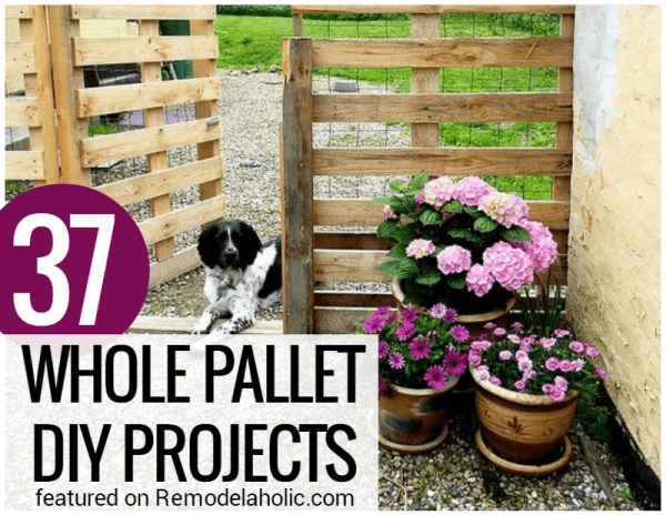 Whole Pallet Projects No Disassembly Required @Remodelaholic