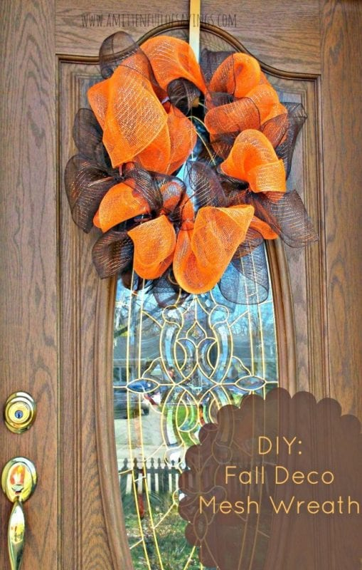 15 DIY Fall Wreath Ideas. A Worthey Read on Remodelaholic