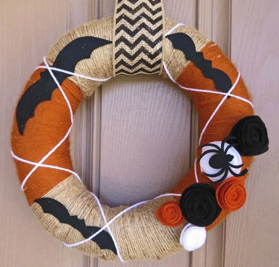 Simple Fall Wreath Ideas Gemini Red Creations on Remodelaholic
