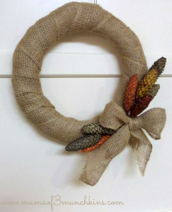 15 DIY Fall Wreaths Mama Of 3 Munchkins Remodelaholic