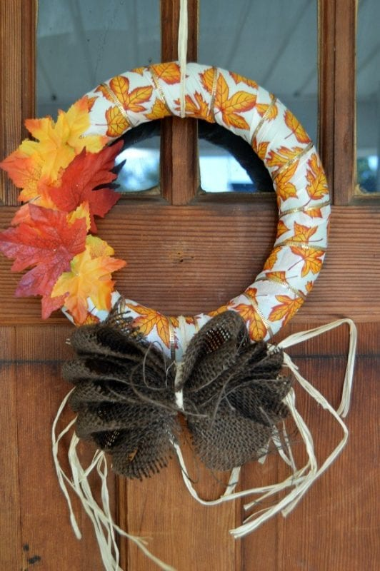 15 DIY Fall Wreath Ideas, Horeshoes N Handgrenades on Remodelaholic