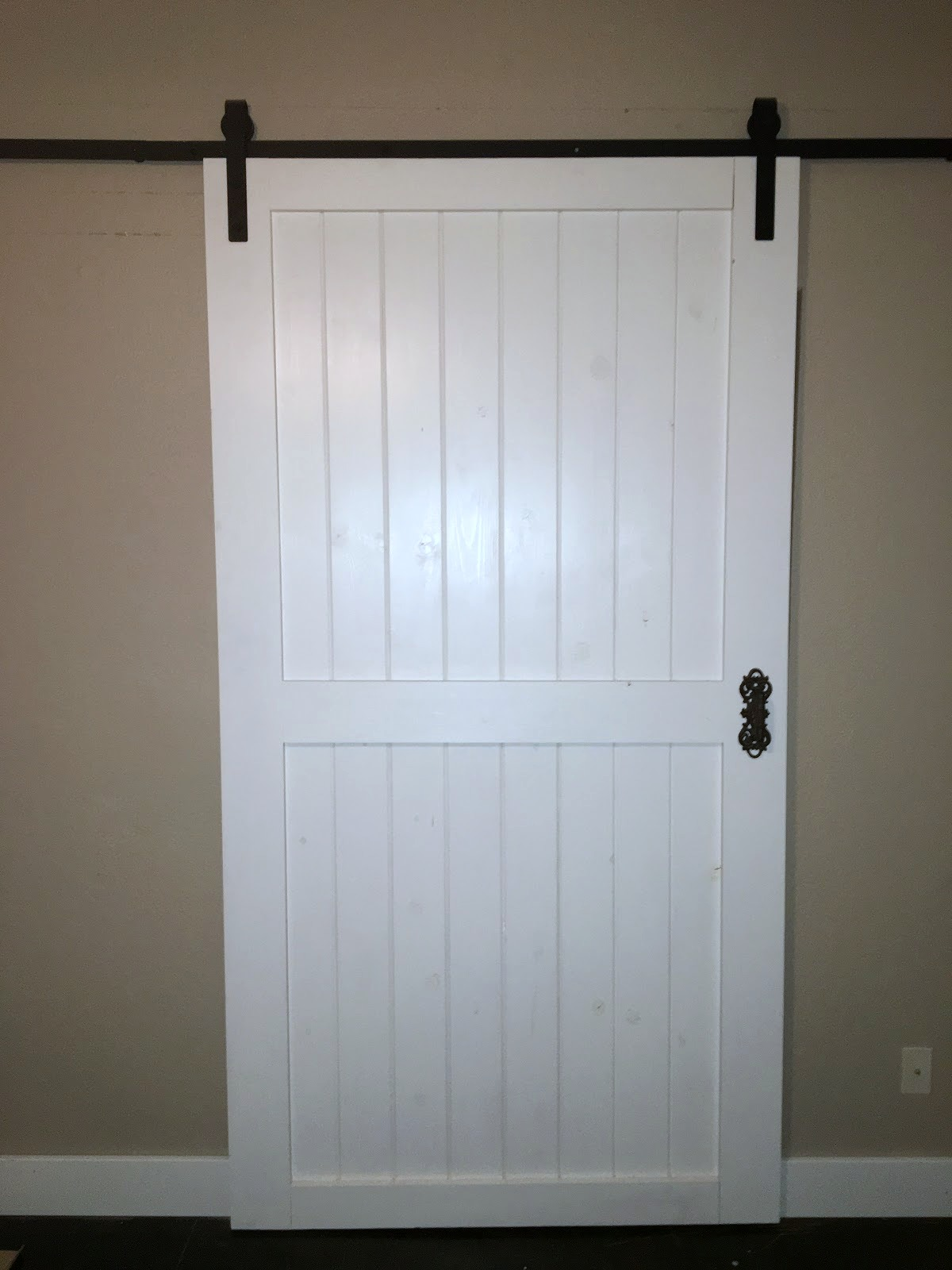 Remodelaholic Cheap Easy Diy Barn Door