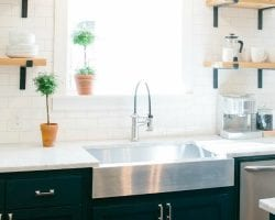 6 Design Elements Of A Fixer Uppper Kitchen Featured