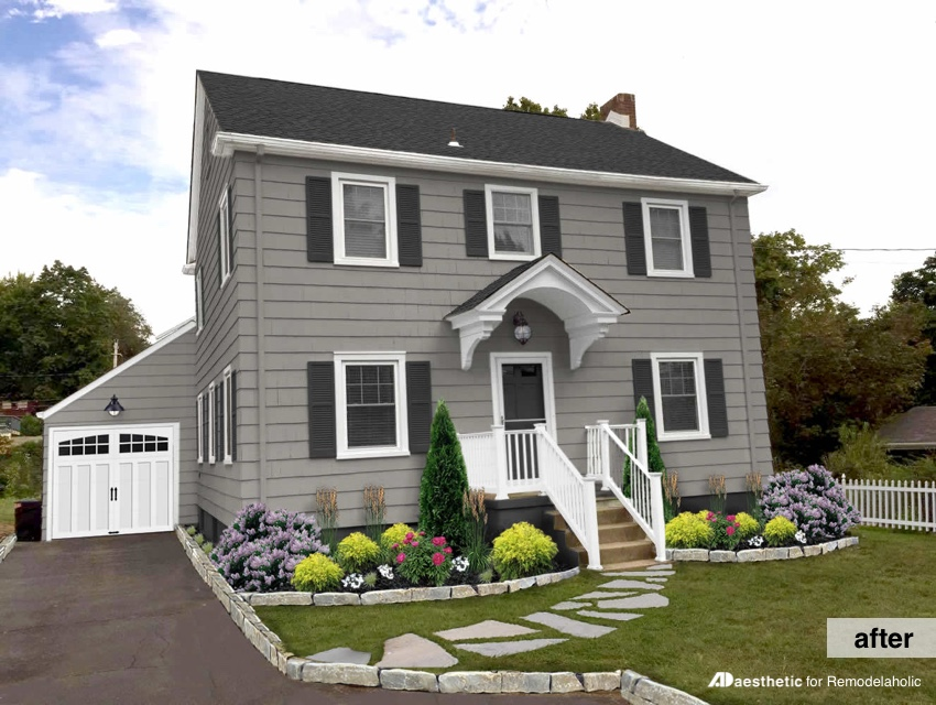 Amazing Exterior Colonial Paint Colors Part 8