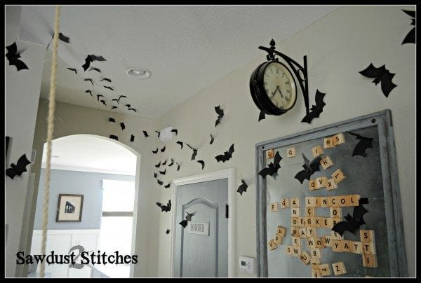 Bat Halloween Decor