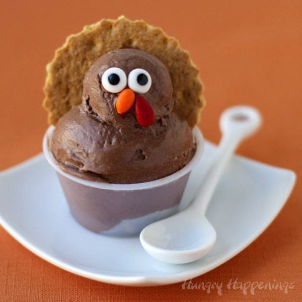 Cocoa Banana Ice Cream Turkeys Thanksgiving Hungry Happenings