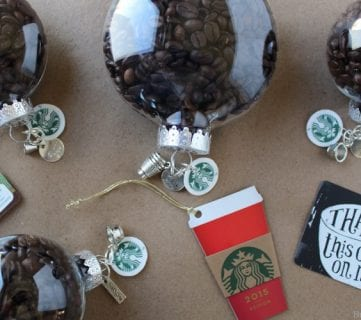 Coffee Bean Customizable Ornaments 13
