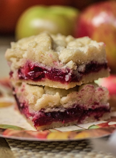 Cranberry Apple Shortbread Keep It Sweet Desserts