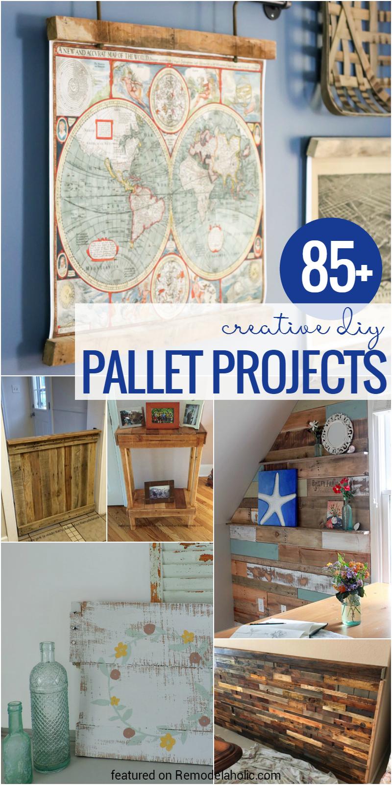 85 Creative Diy Pallet Projects Remodelaholic Bloglovin  # Muebles Jasmine