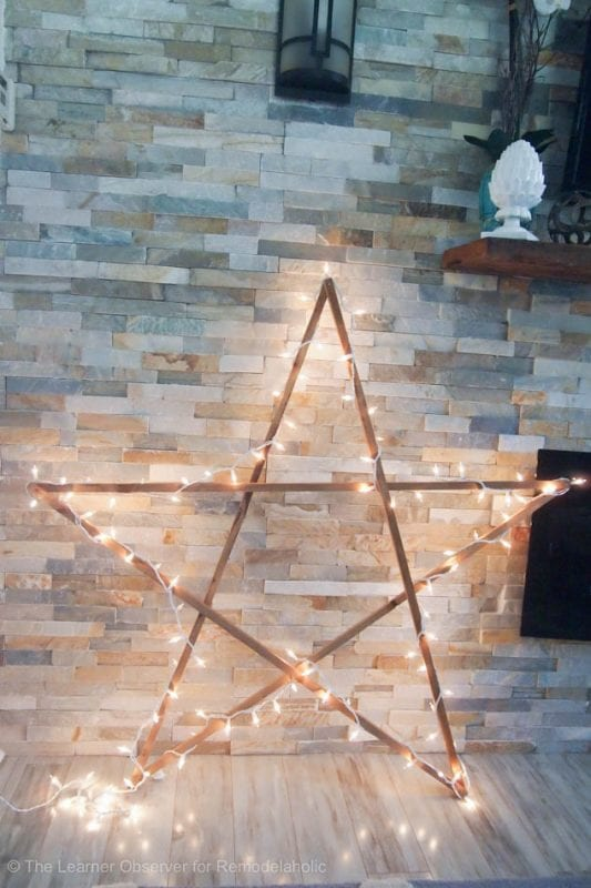 DIY Large Star The Learner Observer For Remodelaholic 12 Of 17