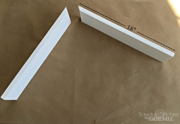 DIY Corbels For A Modern Farmhouse By Sawdust2stitches.com For Remodelaholic.com
