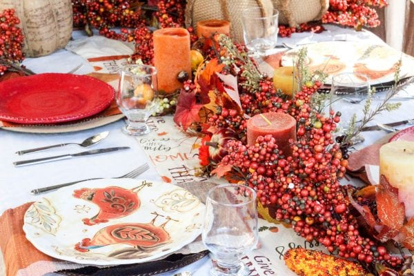 Fall Thanksgiving Tablescape - Remodelaholic