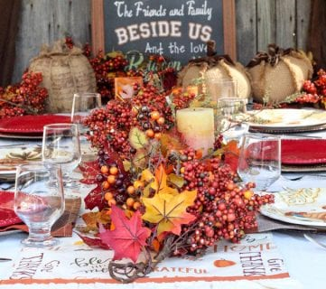 How to Create the Perfect Thanksgiving Tablescape