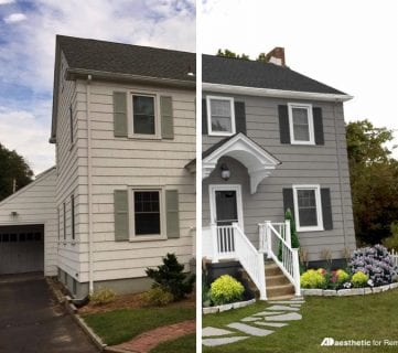Real Life Rooms – Modern Colonial Curb Appeal