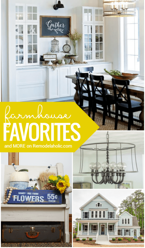 Friday Favorites Farmhouse Style And More @Remodelaholic Cro