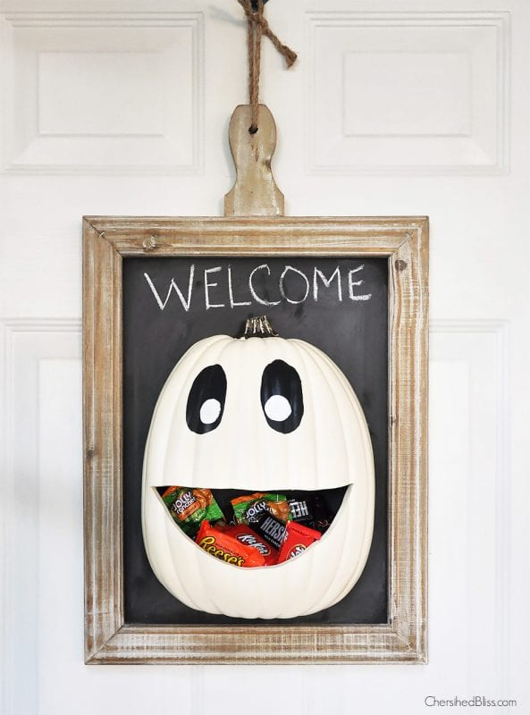 Halloween Candy Door Hanger Cherished Bliss