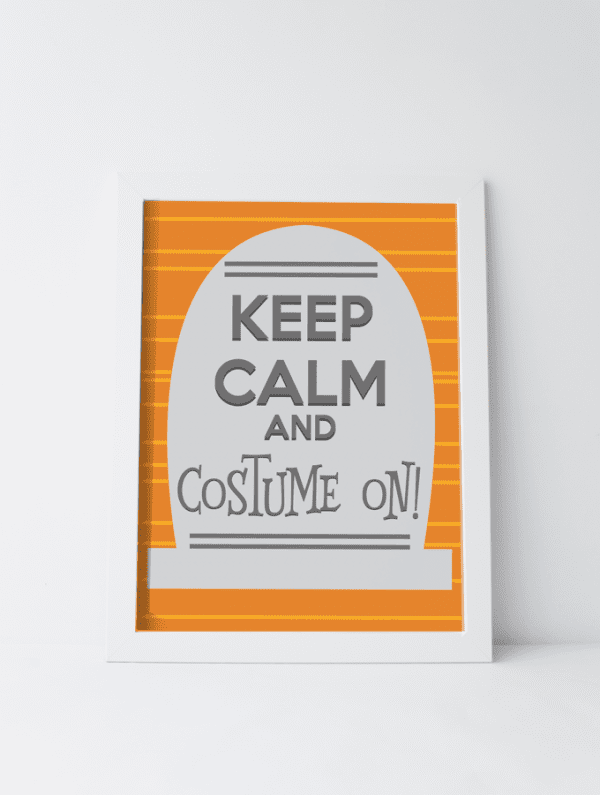 Halloween Keep Calm Printable See Vanessa Craft