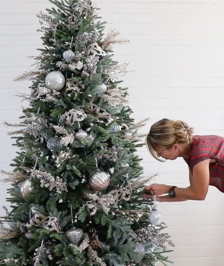 Remodelaholic | How to Decorate a Christmas Tree in 5 Simple Steps