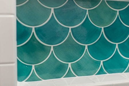 Moroccan Fish Scale Tile | remodelaholic