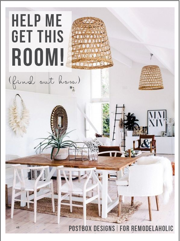 Remodelaholic How To Create A Boho Chic Style In Your Home