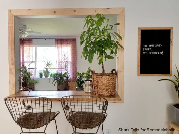 How to make a Letter Board by Shark Tails for Remodelaholic